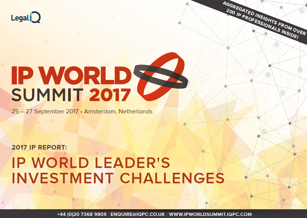 IP World Leader's Investment Challenges