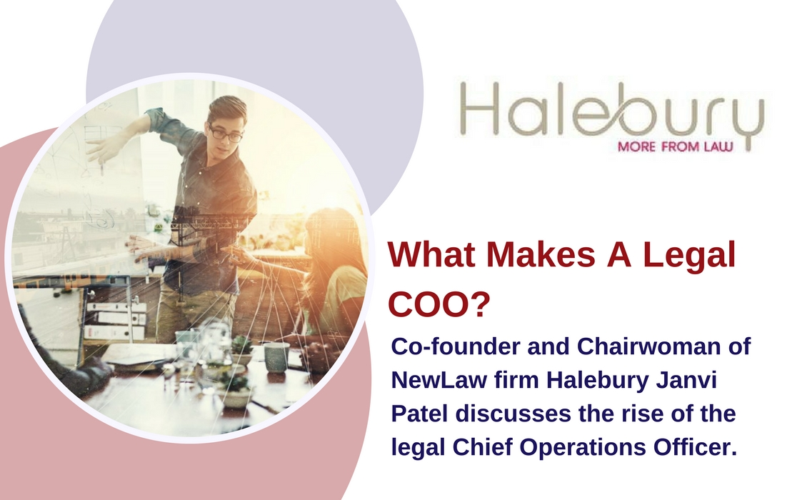 Halebury - What Makes A Legal COO?