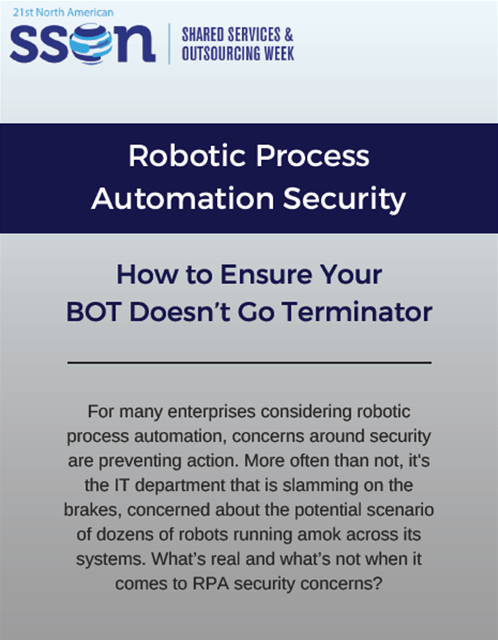 Robotic Process Automation Security