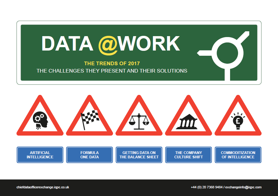 Data @Work: 2017 Trends, Challenges and Solutions
