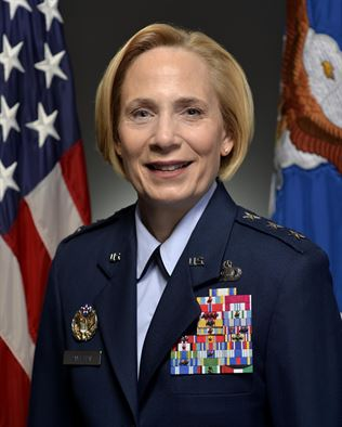 "Lieutenant General VeraLinn ""Dash""  Jamieson"