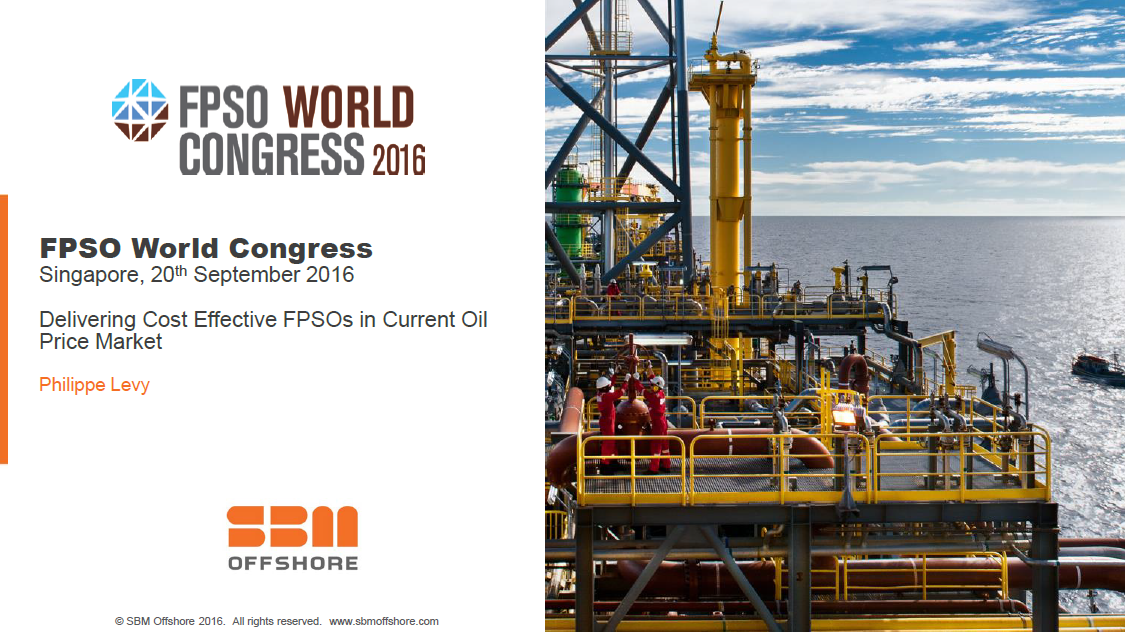 Delivering Cost Effective FPSOs in Current Oil Price Market