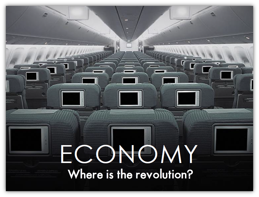 Economy: Where is the revolution?
