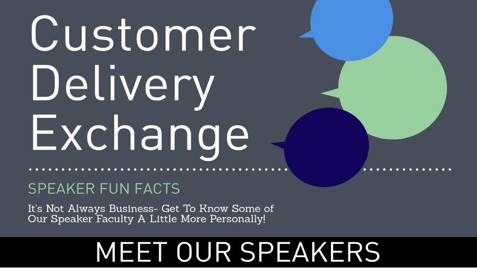 Customer Delivery Exchange - Speaker Fun Facts