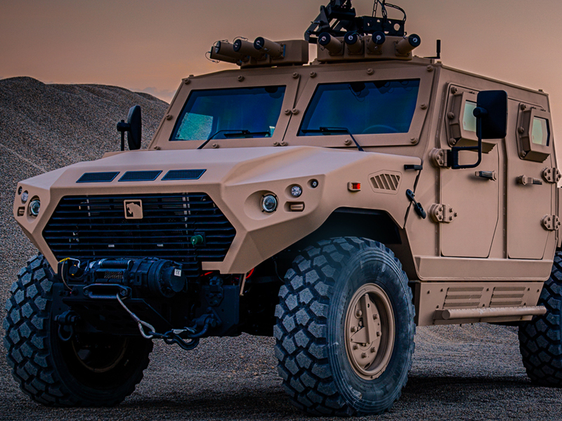 International Armoured Vehicles 2019