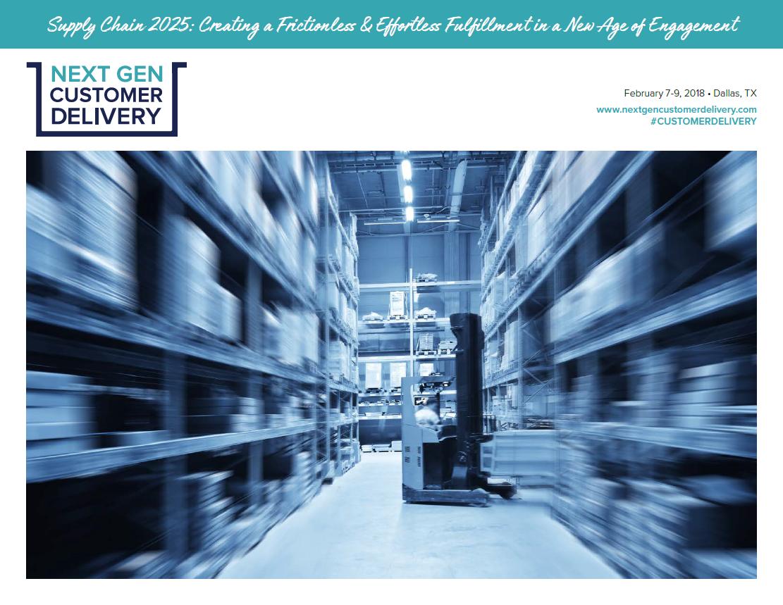 2018 Next Gen Customer Delivery Agenda
