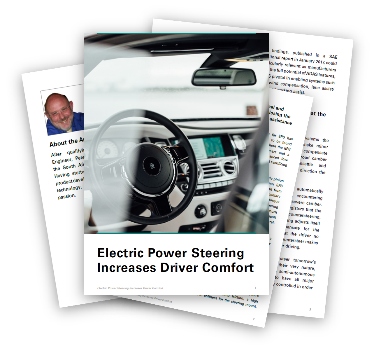 Electric Power Steering for increased driver comfort