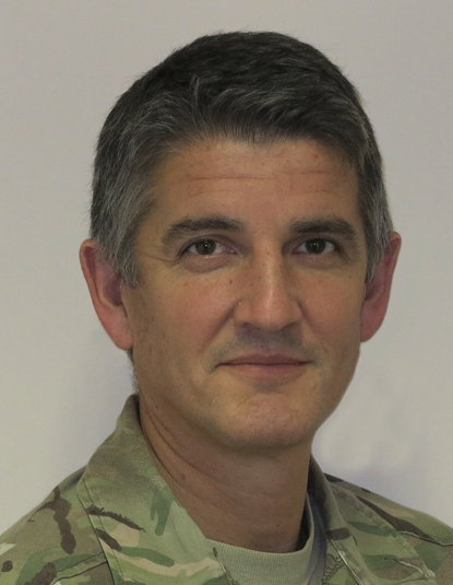 Lieutenant General Nick Pope, CBE,