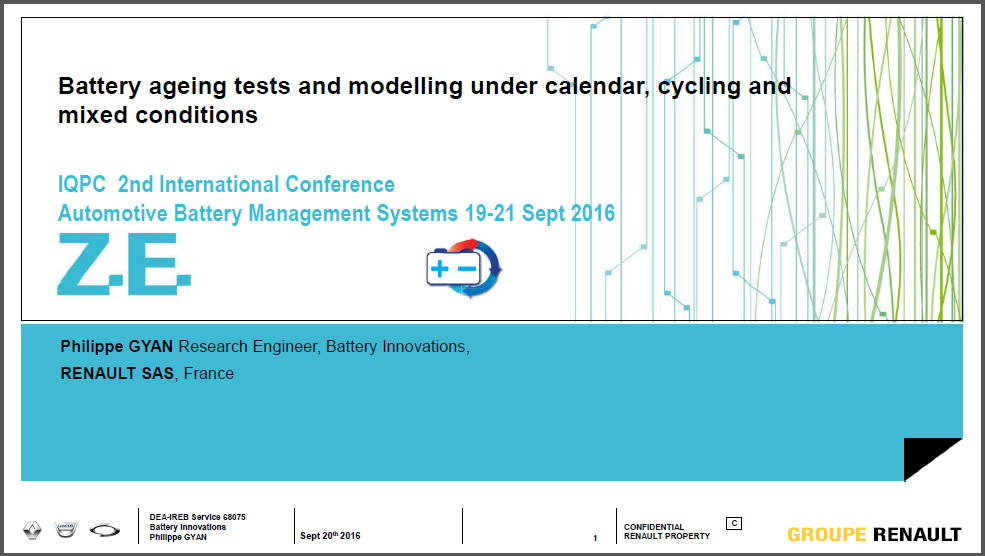 Battery ageing tests and modelling under calendar, cycling and mixed conditions