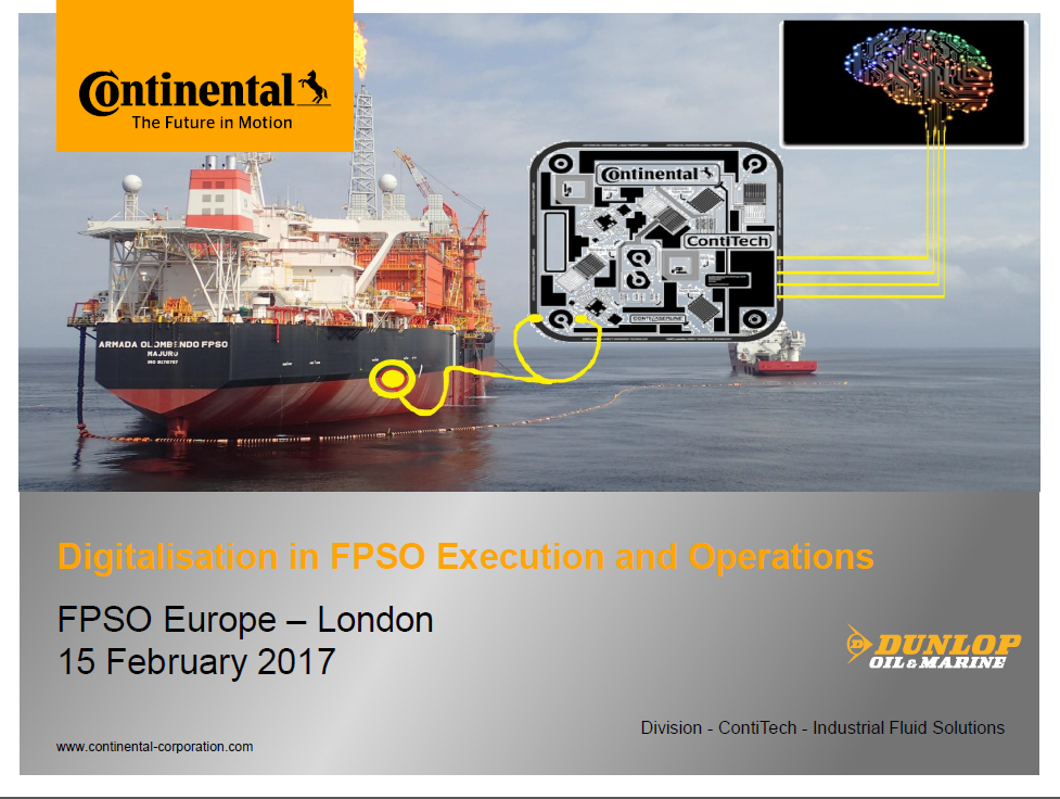 Digitalisation in FPSO Execution and Operations