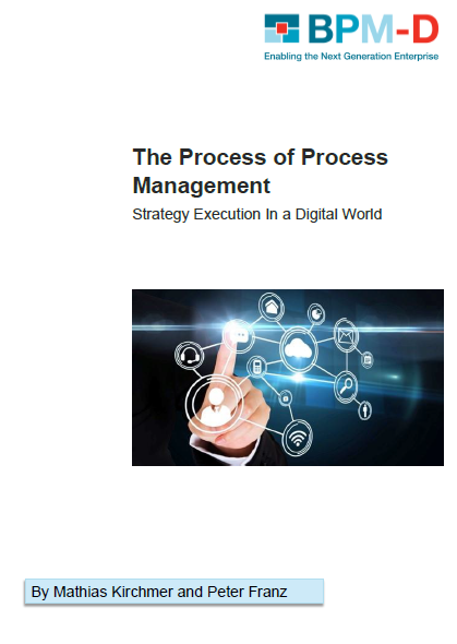 The Process of Process Management Strategy Execution In a Digital World