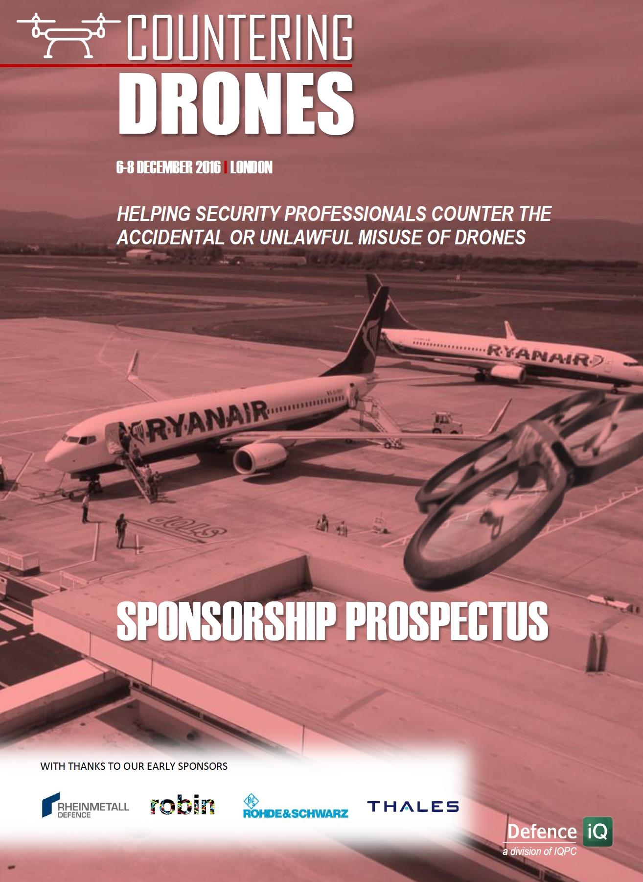 Countering Drones Sponsorship Prospectus