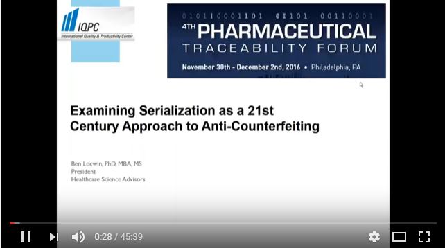 Examining Serialization as a 21st Century Approach to Anti-Counterfeiting