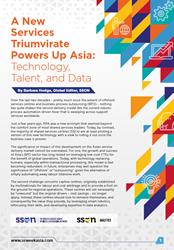 A New Services Triumvirate Powers Up Asia: Technology, Talent, and Data