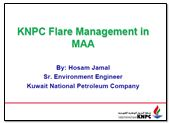 KNPC's Flare Management Strategies