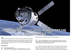 Additive Manufacturing - Space is not the final frontier