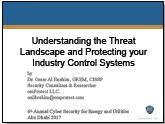 Understanding the threat landscape and protecting your industry control systems
