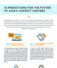 10 Predictions for the Future of Asia's Contact Centres
