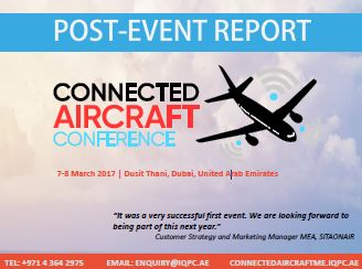 Post-Event Report: Connected Aircraft Conference 2017