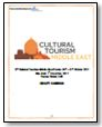 Agenda Preview - Cultural Tourism Middle East