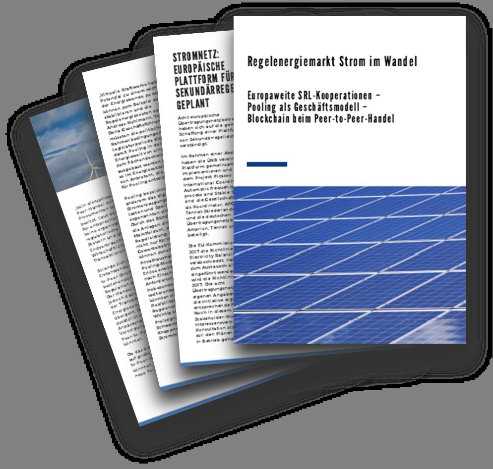 Regelenergiemarkt Strom im Wandel