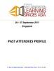 Past Attendee List