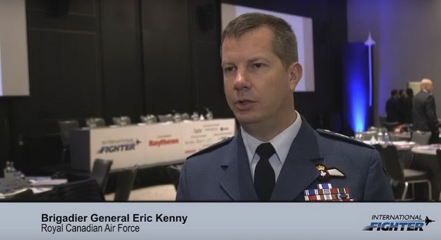 International Fighter: Brigadier General Eric Kenny, Royal Canadian Air Force