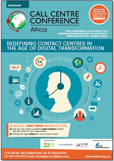 Agenda – 2nd Annual Call Centre Africa Conference