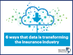 6 ways that data is transforming the insurance industry