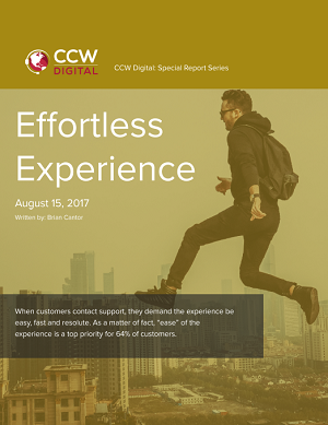CCW Digital Special Report - Effortless Experience