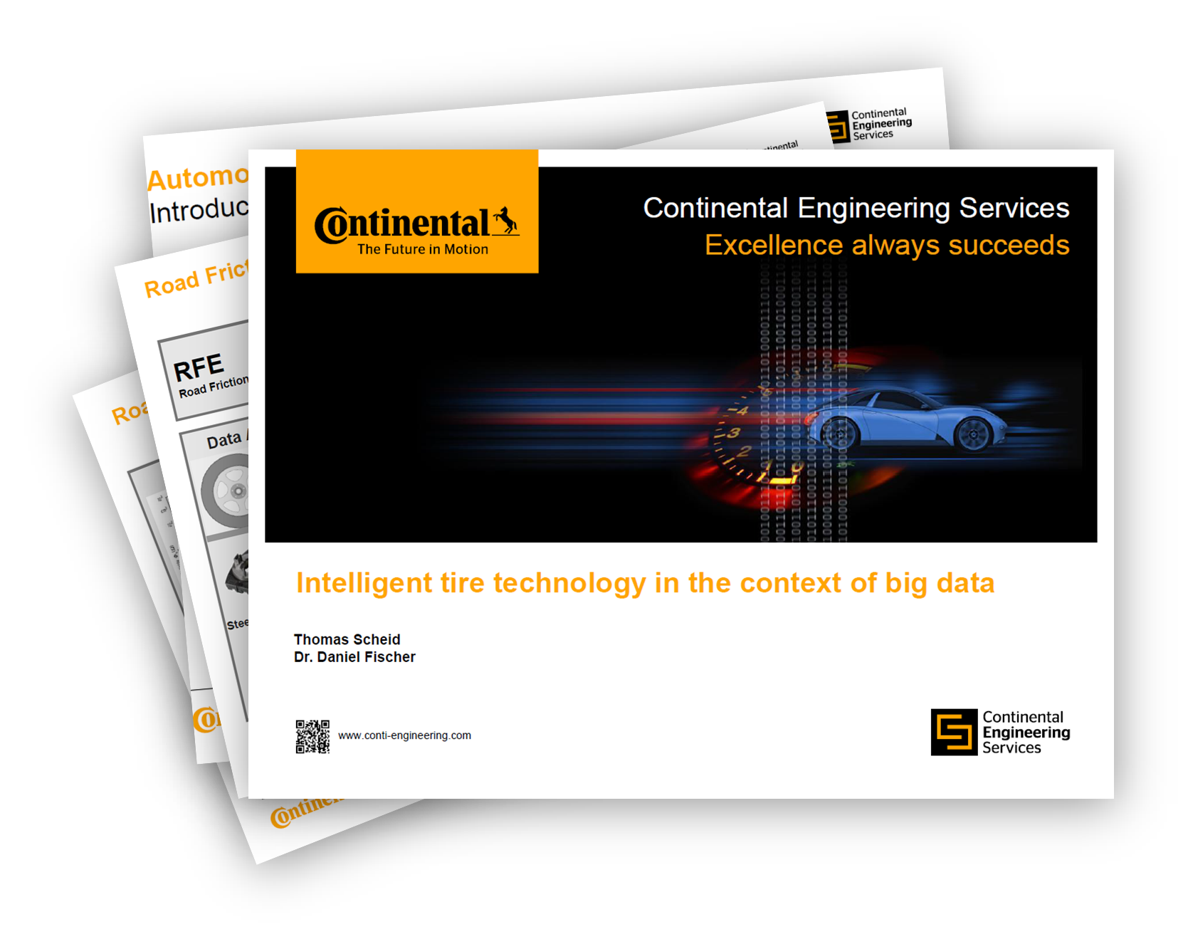 Continental presents: Intelligent Tire Technology in the context of big data