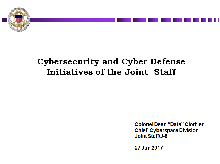 Advancing Cyber Defense, Joint/Coalition Interoperability, and C2 Capabilities