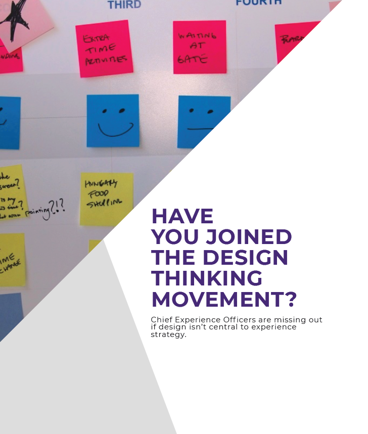 Design Thinking for the CXO
