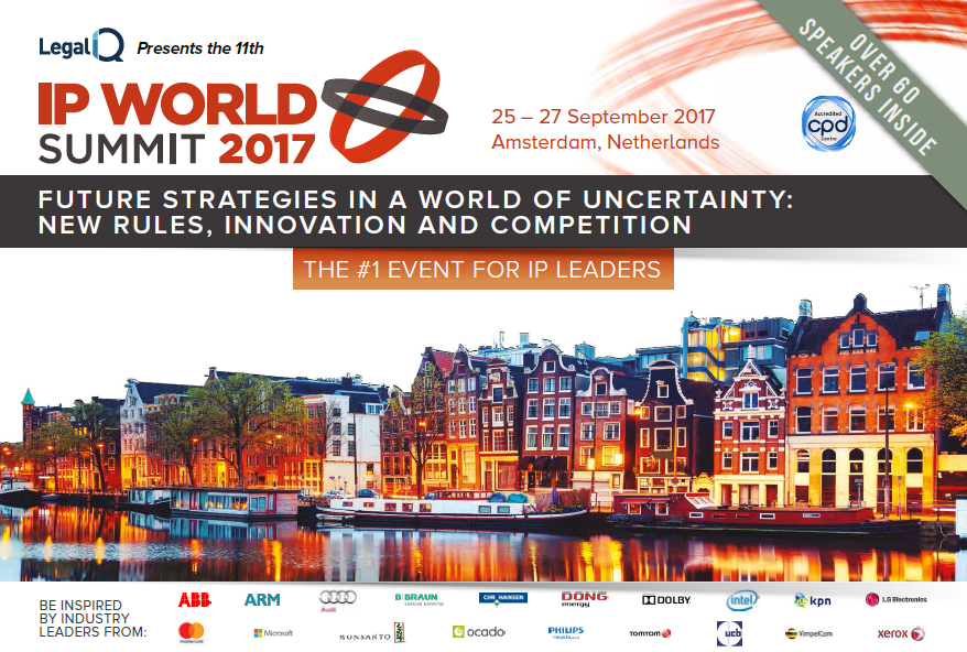 IP World Summit 2017 Agenda