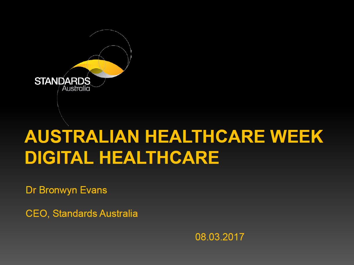 Design Principles for Digital Hospitals: The Development of the Worlds First Digital Hospital Standard