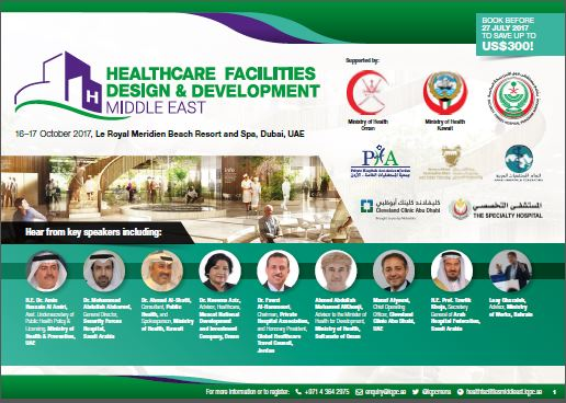 Healthcare Facilities Design & Development Middle East - Agenda