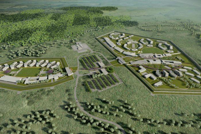 Plans unveiled for Australia's largest prison