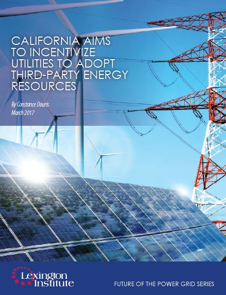 California Aims to Incentivize Utilities to Adopt Third-Parties
