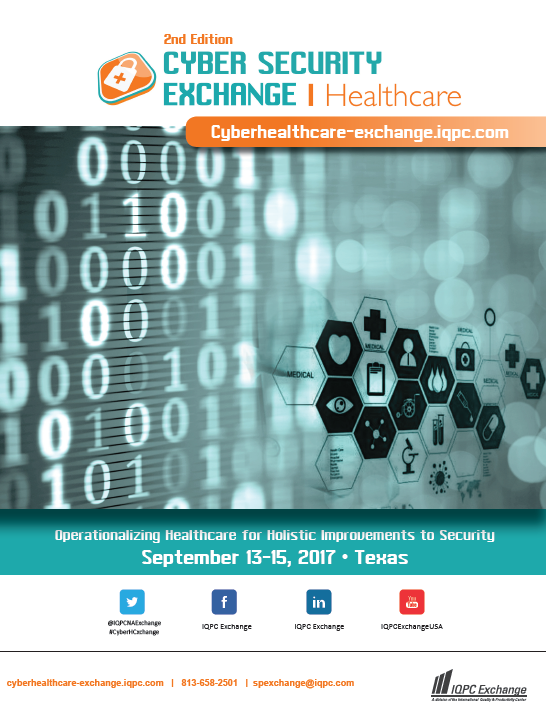 2017 Cyber Security for Healthcare Agenda