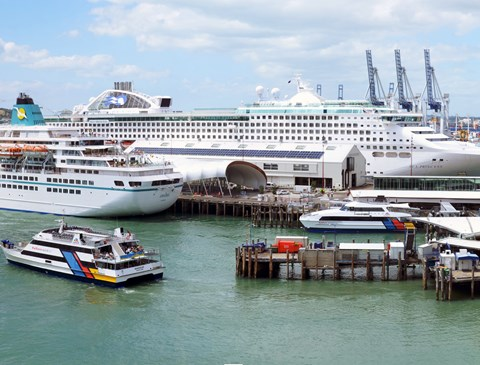 Plan approved for berthing large cruise ships