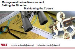 Management Before Measurement