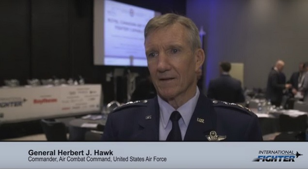 International Fighter: General Herbert J. 'Hawk' Carlisle, USAF Air Combat Command