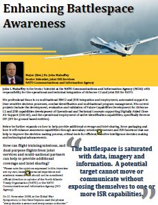 Enhancing Battlespace Awareness with NATO