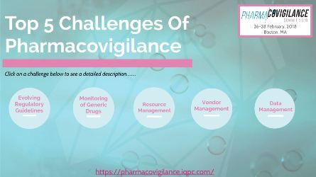 Top 5 Challenges of Pharmacovigilance in 2017 and Beyond