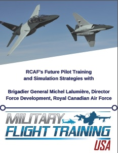 RCAF's Future Pilot Training and Simulation Strategies
