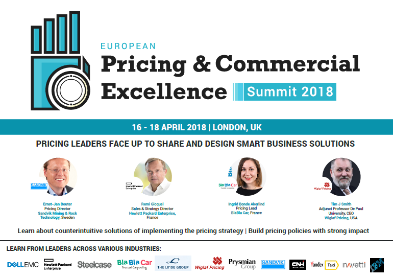European Pricing Summit Agenda