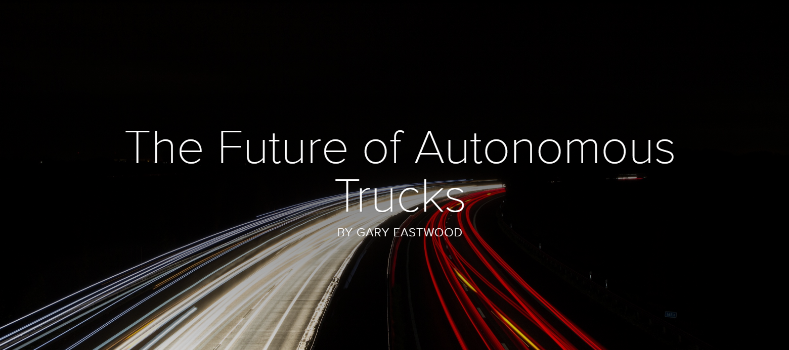 The Future of Autonomous Trucks