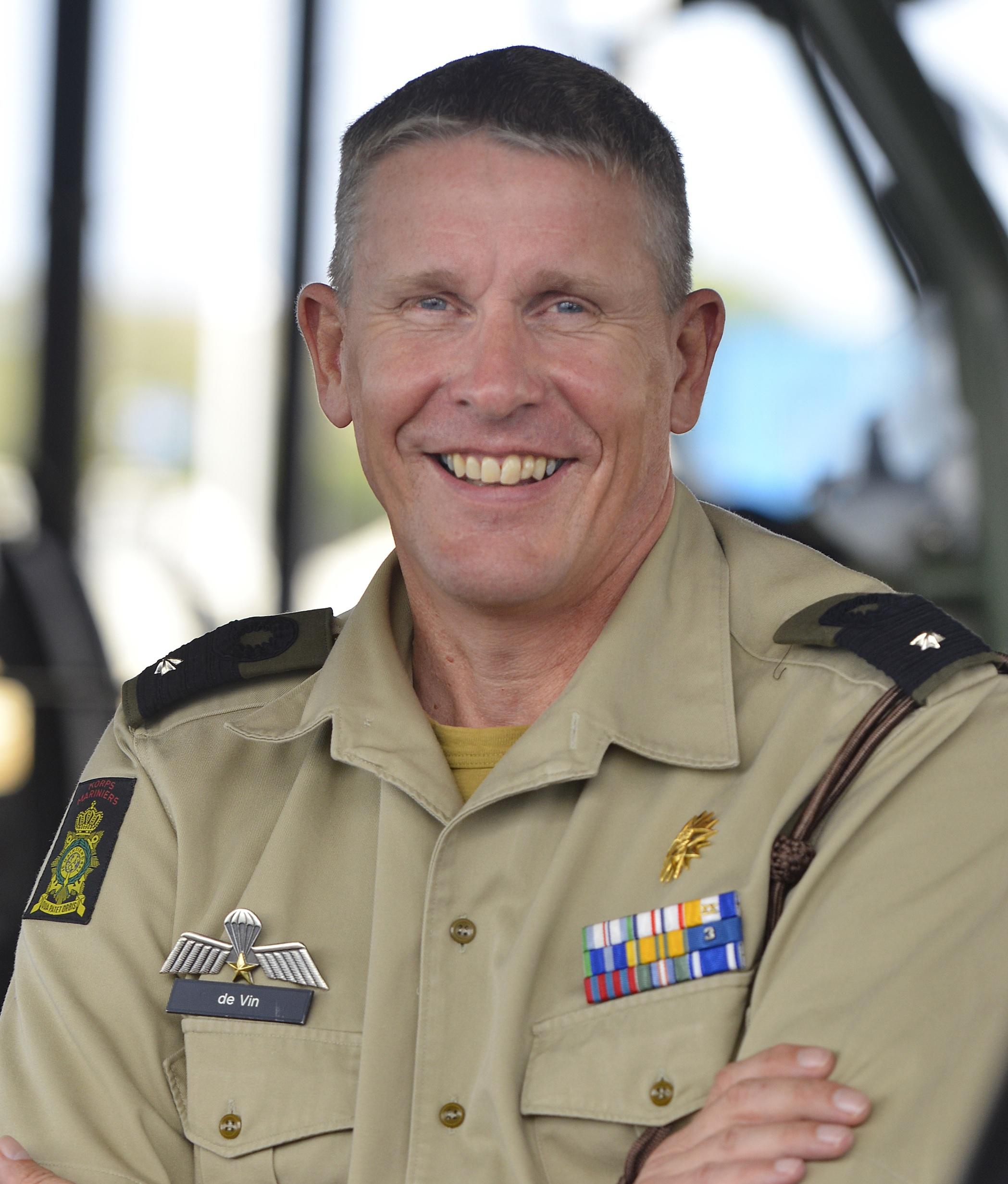 Brigadier General Peter Jan de Vin