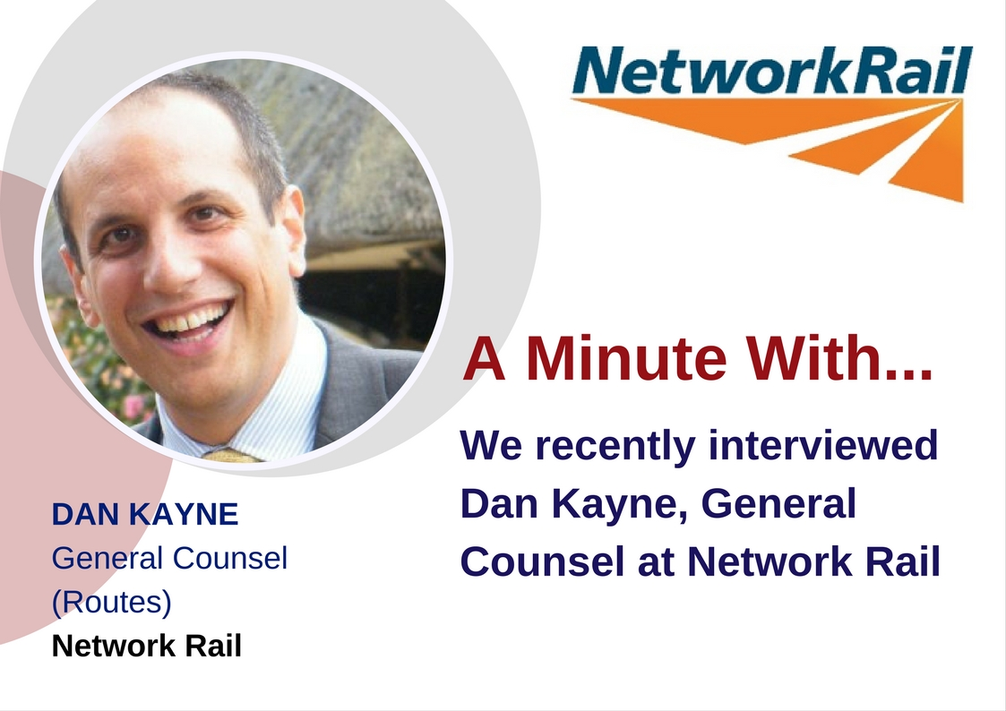 A Minute with... Network Rail