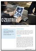 Case study by C-Zentrix on partnering success of an online retailer